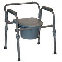 Стул для туалет для инвалидов складной