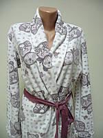 Женский флисовый халат Bella Secret размер M,L,XL, фото 1