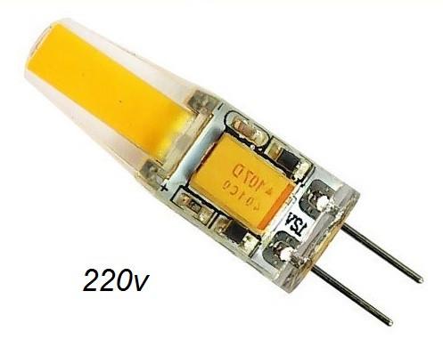 LED лампа Biom G4 3,5W 3000K 220V
