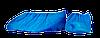 Бахилы одноразовые полиэтилен 1,5 г (100 шт в уп.)