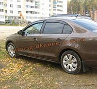 Дефлекторы окон (ветровики) COBRA-Tuning на VW SAGITAR 2012