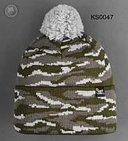 Шапка (зимняя, с помпоном) Staff - Art. KS0047 (разные цвета)