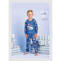 """Пижама для мальчика  на байке ТМ """"Ellen"""" рост 128"""