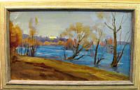 Картина Ранняя весна  Захаров Ф.З.1970-е годы