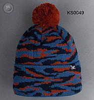 Шапка (зимняя, с помпоном) Staff - Art. KS0049 (разные цвета)