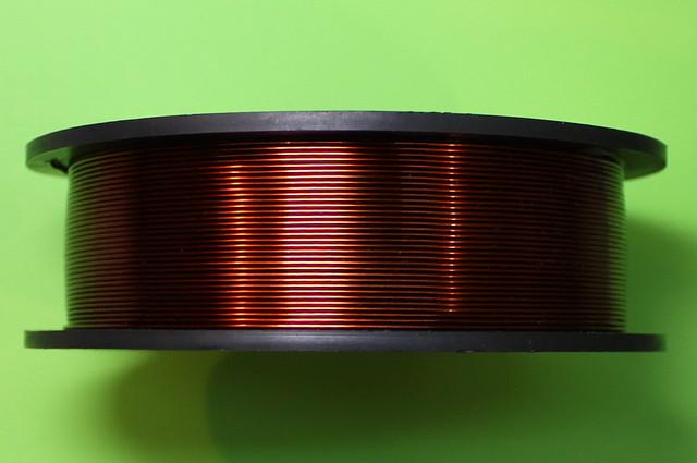 Эмальпровод диаметр 0,20 мм по 0.5 кг