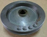 Шкив компрессора ЯМЗ цельный трактора  т 150  500-3509130-12