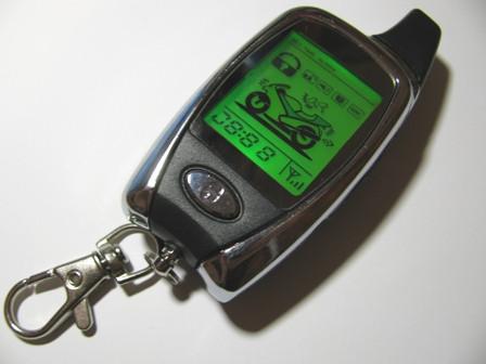 Пульт ДУ (брелок) для мото сигнализации Beret