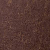 Фетр под кожу, винтажный, Корея, КОРИЧНЕВЫЙ, 9.5х11.5 см