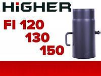 Шибер заслонка (2мм) Ø 120мм 130мм 150мм