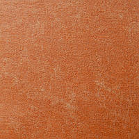 Фетр под кожу, винтажный, Корея, РЫЖИЙ, 9.5х11.5 см