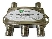 Переключатель DiSEqC 4x1, дисек на 4 спутника
