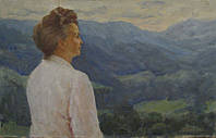 "Картина ""В Карпатах"" Лобода И.И. 1980-е годы"