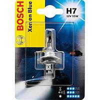 Автомобильная лампа Bosch Xenon Blue H7 12V 55W (1987301013)
