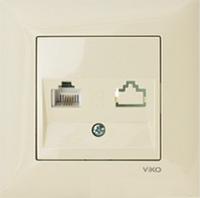 Телефонная розетка  Viko-Meridian