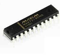 Чип MAX7219CNG MAX7219, драйвер индикатора