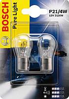 Автомобильные лампы Bosch Pure Light P21/4W 12V 21/4W (1987301015)