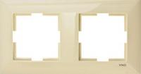 Двойная горизонтальная рамка  Viko-Meridian
