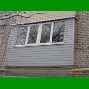 Ремонт балкона дешево Запорожье