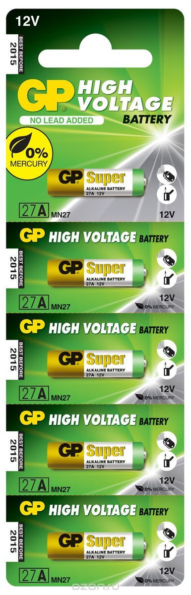 Батарейка GP High Voltage 27A