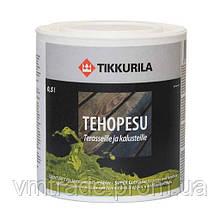 Тиккурила Техопесу — отбеливающее средство для древесины, 0,5л.  концентрат
