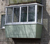 Металлопластиковые балконы veka обшить