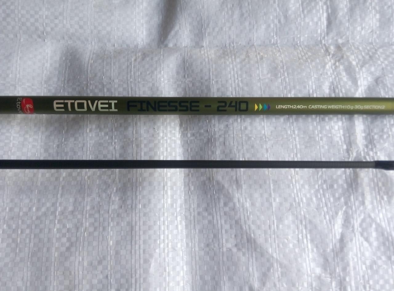 Спиннинговое удилище ETOVEI Finesse 2,4м (10-30)