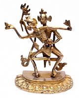 Статуэтка бронзовая Яб Юм