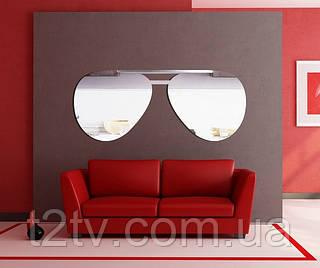Декоративное акриловое зеркало Очки