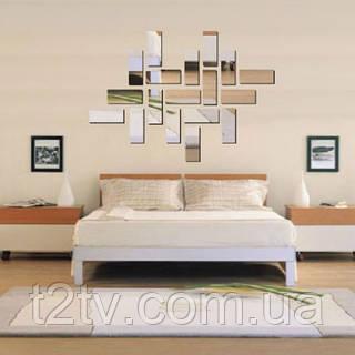 Декоративное акриловое зеркало Панели