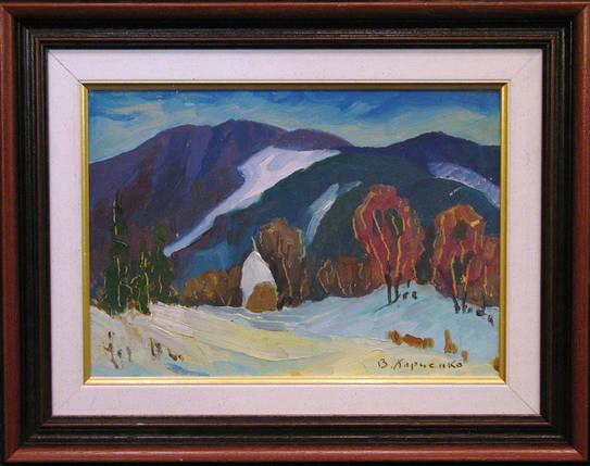 Картина Горный пейзаж Харченко В.И. 1970-е годы, фото 2