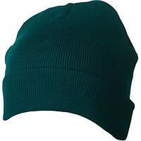 Вязаная шапка с отворотом 7551-2