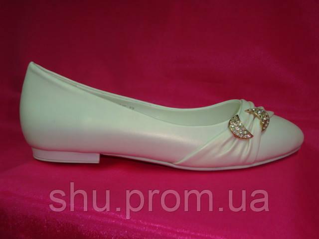 c2ac2e067c6b Свадебные балетки цвета айвори - Интернет магазин «Шузы для невесты» в Киеве