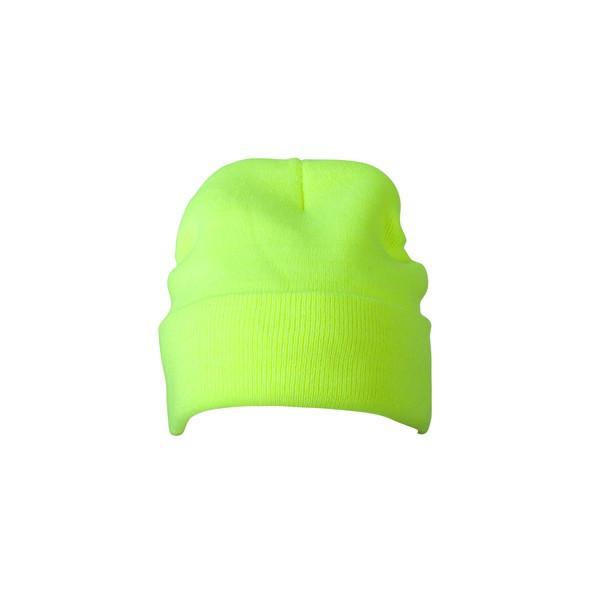 Вязаная шапка с отворотом 7551-5
