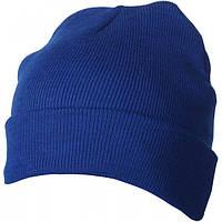 Вязаная шапка с отворотом 7551-8
