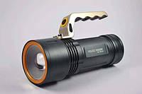 Фонарь фонарик прожектор мощный POLICE BL-T801-zoom