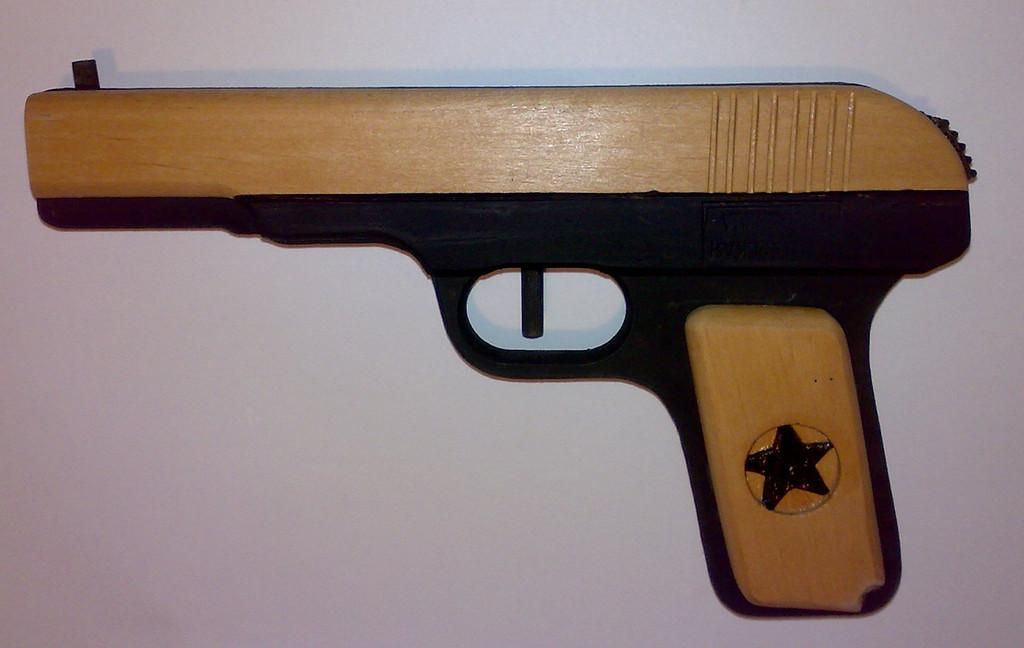 Пистолет ТТ с улучшенным дизайном