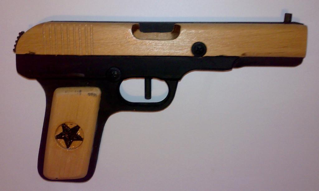 Пистолет ТТ с улучшенным дизайном 2