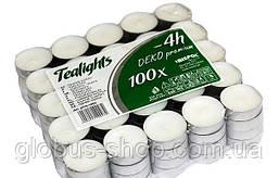 Свеча таблетка чайная, диаметр 4 см