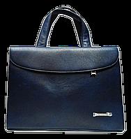 Сумка-портфель женская из искусственной кожи синяя DOP-886534, фото 1