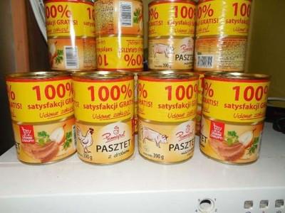 Паштет куриный Pamapol 390 грамм Польша