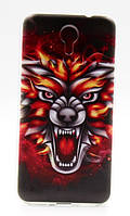 Чехол для Homtom HT3 Бампер fox