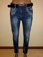 Женские джинсы полубатал Sessanta 14084, фото 1