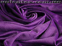 Пальтовая ткань ворсовая фиолетовая