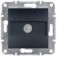 Розетка телевізійна кінцева, антрацит - Schneider Electric Asfora EPH3200171