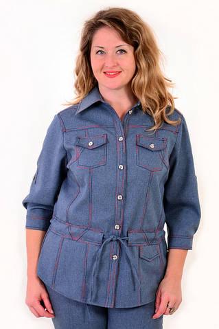 Жакет-рубашка спортивного стиля  ( ЖК 025-3)