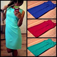 Платье мини низкая цена  42 44 46 48 50 Р, фото 1