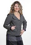 Жакет кашемировый шерстяной серый женский ( ЖК 029), фото 3