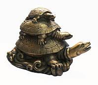 Три Черепахи пирамида бронза