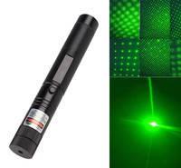 Зелена потужна лазерна указка TY Laser 303 лазер з насадкою зоряне небо і ключ для блокування